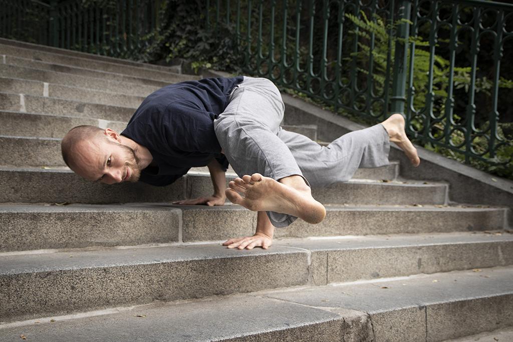 Jóga na Nuselských schodech